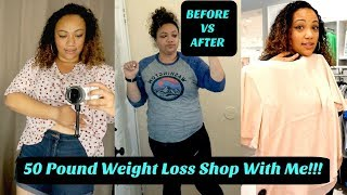 Shop With Me! 50 Pound Weight Loss In 8 Weeks! Fast Weight Loss Journey!