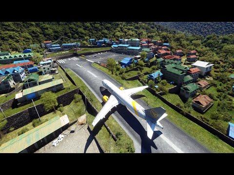 Aterrizaje En Lukla