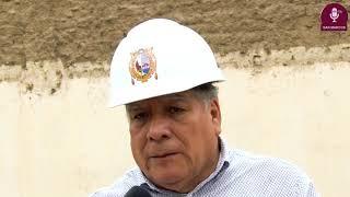 Tema: Rector supervisa el avance de obras en la Ciudad Universitaria