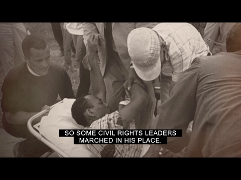"June 6, 1966 - James Meredith Shot During ""March Against Fear"""