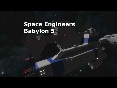 Space Engineers Babylon 5