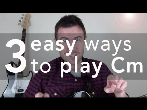 Cm Guitar Chord (3 Easy Versions)