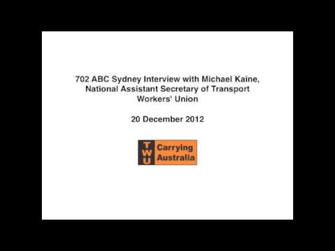 702 ABC Sydney Interview with Michael Kaine