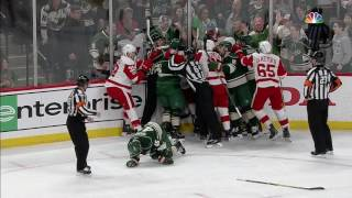 Nyquist retaliates with a vicious high stick on Spurgeon