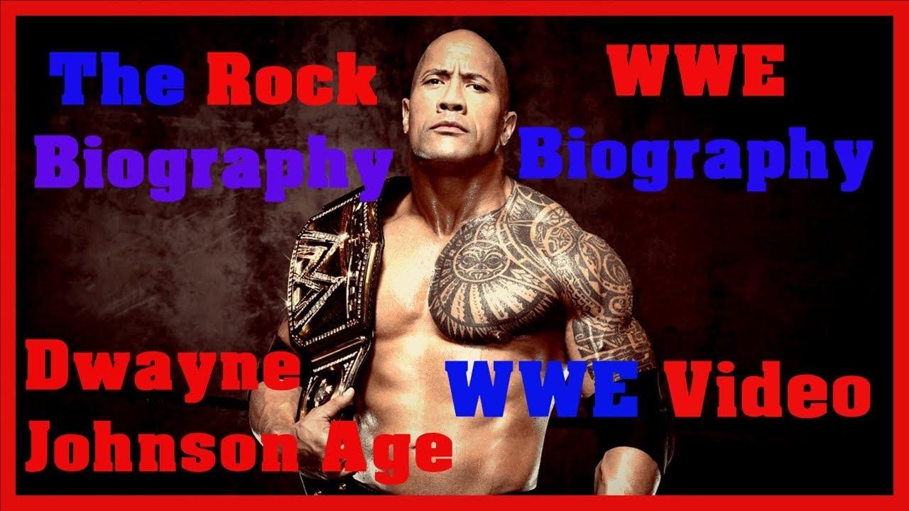 The Rock Biography | Dwayne Johnson Age | WWE Biography | The Rock Dwayne Johnson | WWE Video
