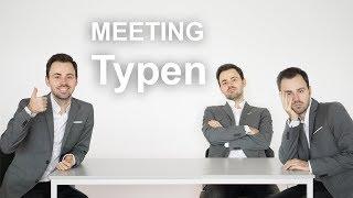 Gambar cover Drei Meeting-Typen, die man unbedingt beachten sollte.