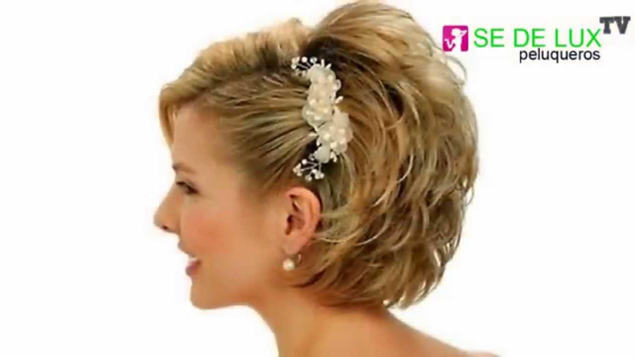 Peinados modernos en cabello corto 2015