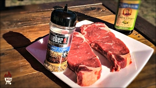 Perfect Grilled Steak On The Weber Charcoal Grill | Steak And Potatoes