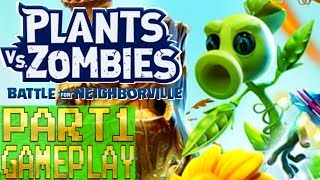 Plants vs Zombies Battle For Neighborville PART 1 Early Gameplay Walkthrough (PC)