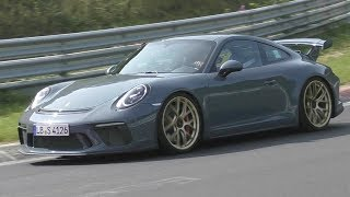 Porsche 991.2 GT3 Testing HARD on the Nürburgring Nordschleife!