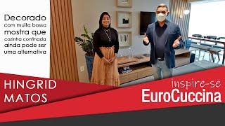 Inspire-se EuroCuccina com Hingrid Matos e um decorado com muita bossa