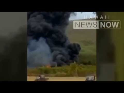Hawaii military aircraft Osprey crash / Hawaii News Now