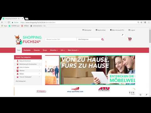 Shopping-Fuchs24.de Artikel Import CSV / XML / Ebay  Anleitung