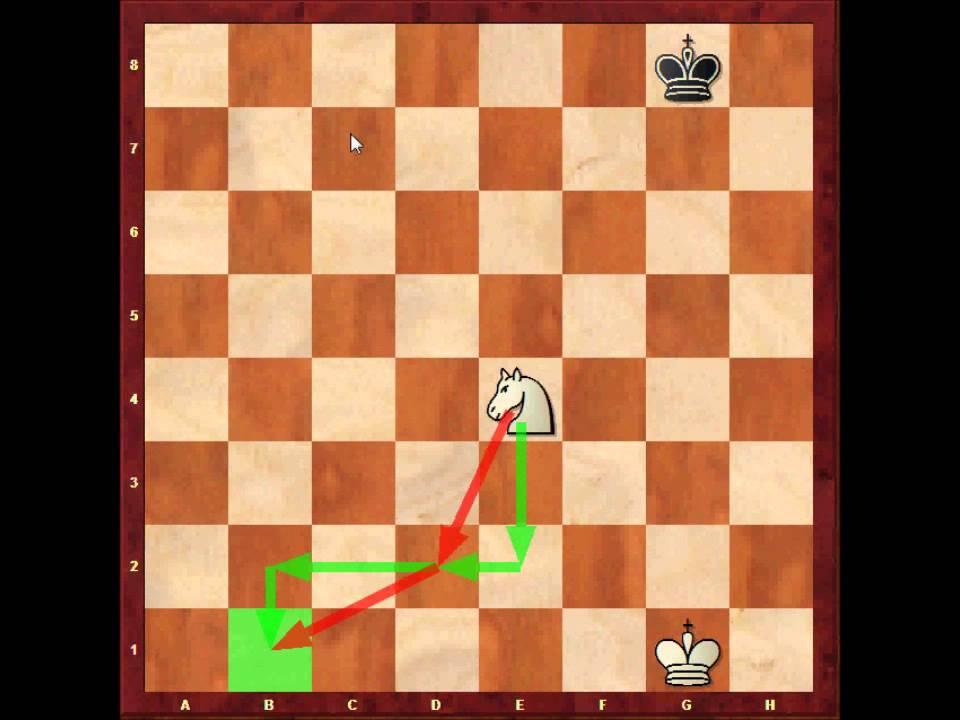 Satranç Dersleri 3 Taşların Hareketleri şah At Ve Piyonun