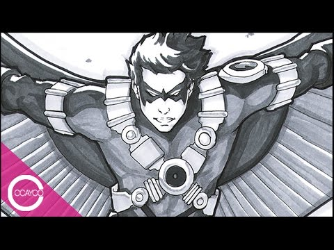 Let's Draw RED ROBIN - LIVESTREAM