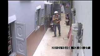 Toan canh trom xe khu nha tro duong Phan Huy Ich _ Go Vap .wmv