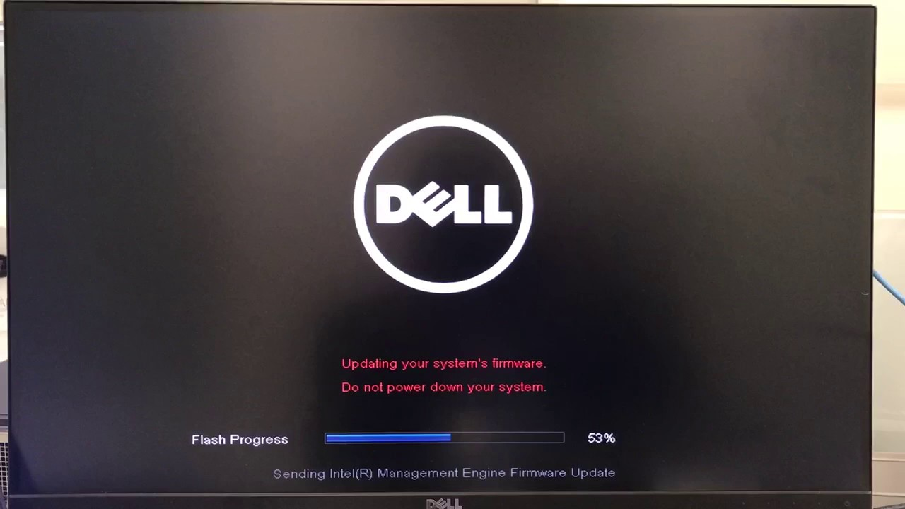 Updating system BIOS to A19 in dell precision tower 5810