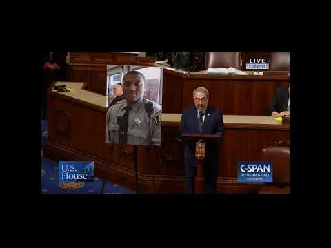 Rep. Butterfield Honors the Life of Deputy Sheriff David Manning