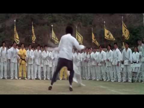 Брюс Ли против Жан Клода Ван Дамма   Bruce Lee vs Jean Claude Van DammeHD