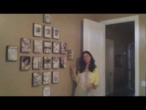 How To Hang Sid Dickens Tiles  With Denise Milano