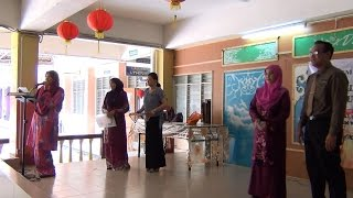 Straight As SPM 2014 candidates - SPM Results Day '15 (SMK PBP 1)