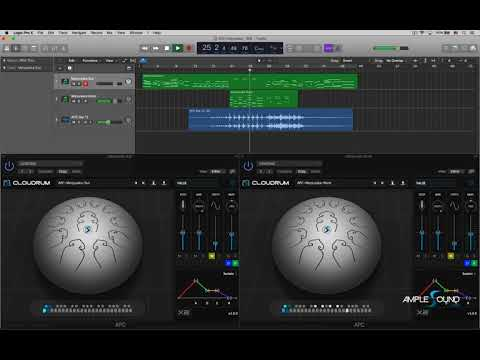 Ample Percussion Cloudrum Demo Song Manjusaka