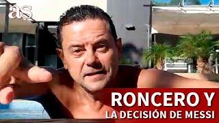 RONCERO en la piscina y la decisión de MESSI, lo del final va al Top 3 de sus vídeos | Diario AS