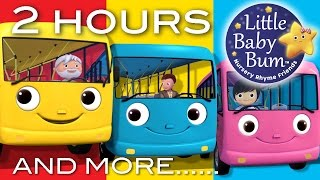 Video Wheels On The Bus | Part 2 Compilation! | 2+ Hours of Nursery Rhymes by LittleBabyBum! download MP3, 3GP, MP4, WEBM, AVI, FLV Maret 2018