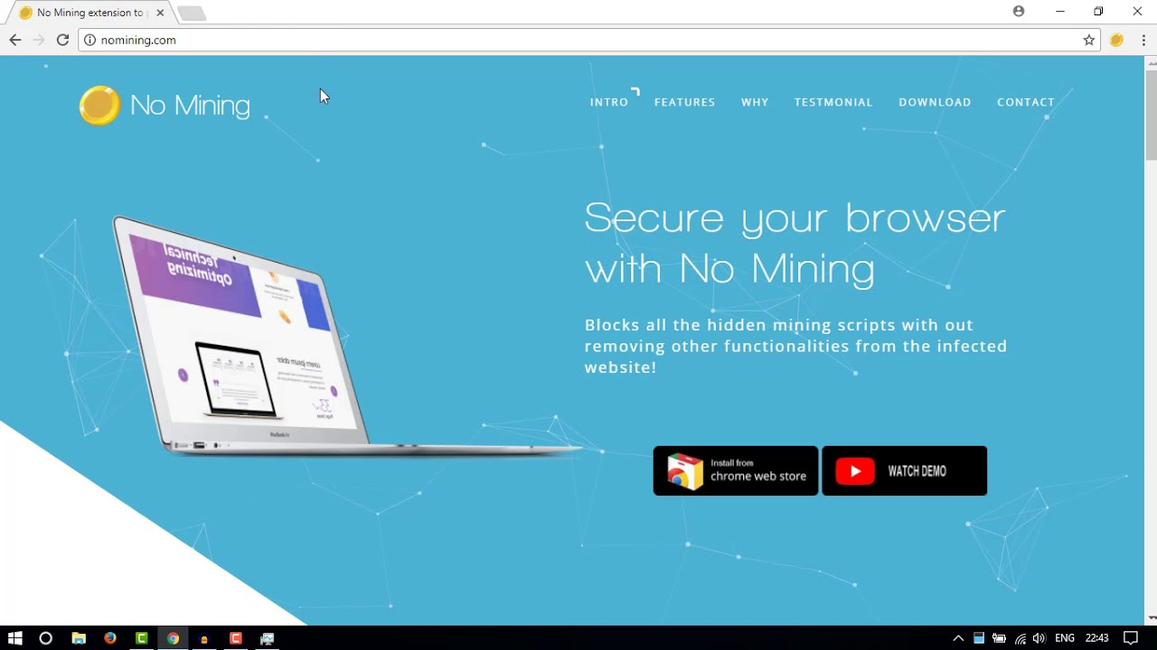 addon to stop websites from cryptocurrency mining
