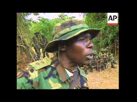 UGANDA: US FORCES ARRIVE TO TRAIN LOCAL TROOPS IN PEACEKEEPING