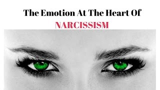 The emotion at the heart of narcissism