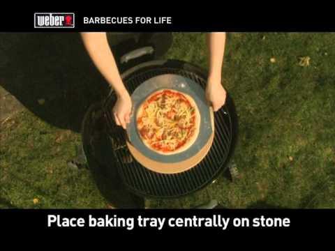 Weber Pizza Stone - YouTube