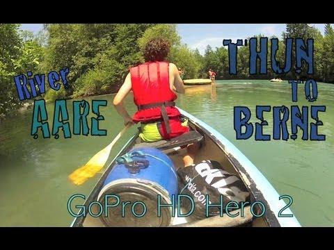 Aare river Impressions | Thun - Berne | GoPro Hero edit | Travel Guide Teaser