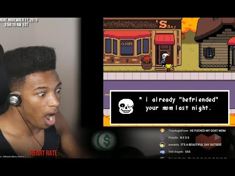 ETIKA REACTS TO SANS IN DELTARUNE