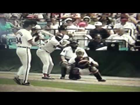 Mo Vaughn 1st Career Home Run Boston Red Sox