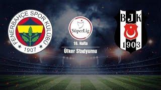 Fenerbahçe Beşiktaş Maçı Canlı izle