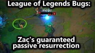 League of Legends Bugs - Zac