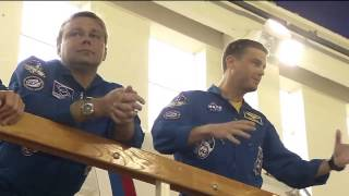 Expedition 40/41 Crew Undergoes Final Training Outside Moscow