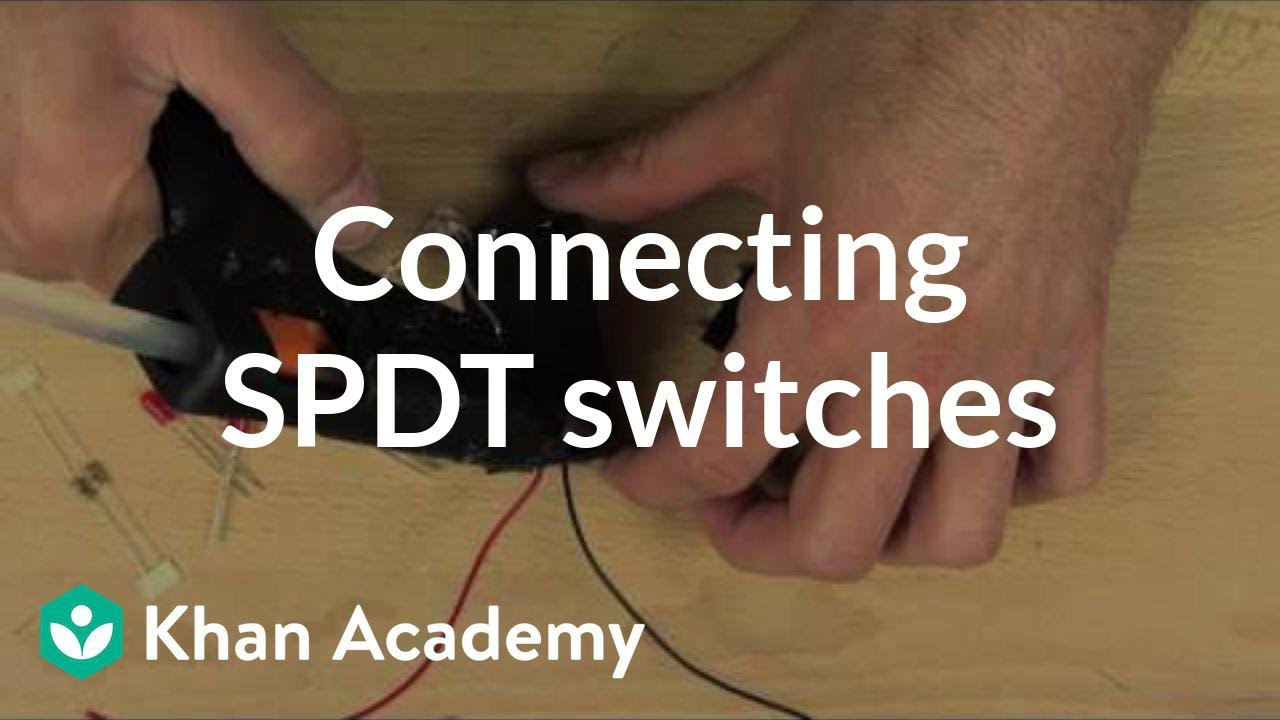 medium resolution of wiring a spdt switch