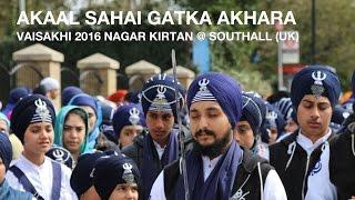 Akaal Sahai Gatka Akhara @ Vaisakhi 2016