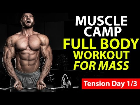 Full Body Workout for Mass (TENSION DAY)