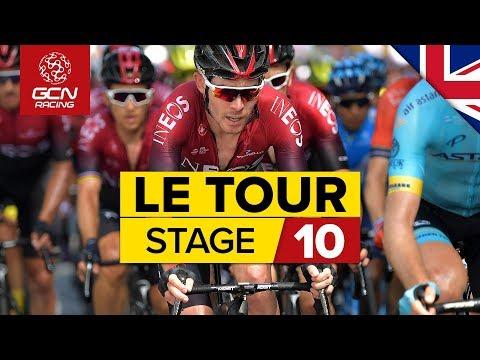 Tour de France 2019 Stage 10 Highlights: Saint-Flour – Albi | GCN Racing