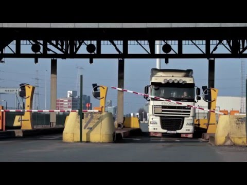 DP World Antwerp Truck drivers instructions