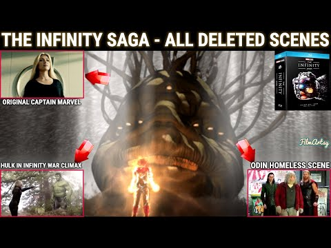 The Infinity Saga - ALL UNSEEN DELETED SCENES | Avengers: Infinity War & Endgame Included