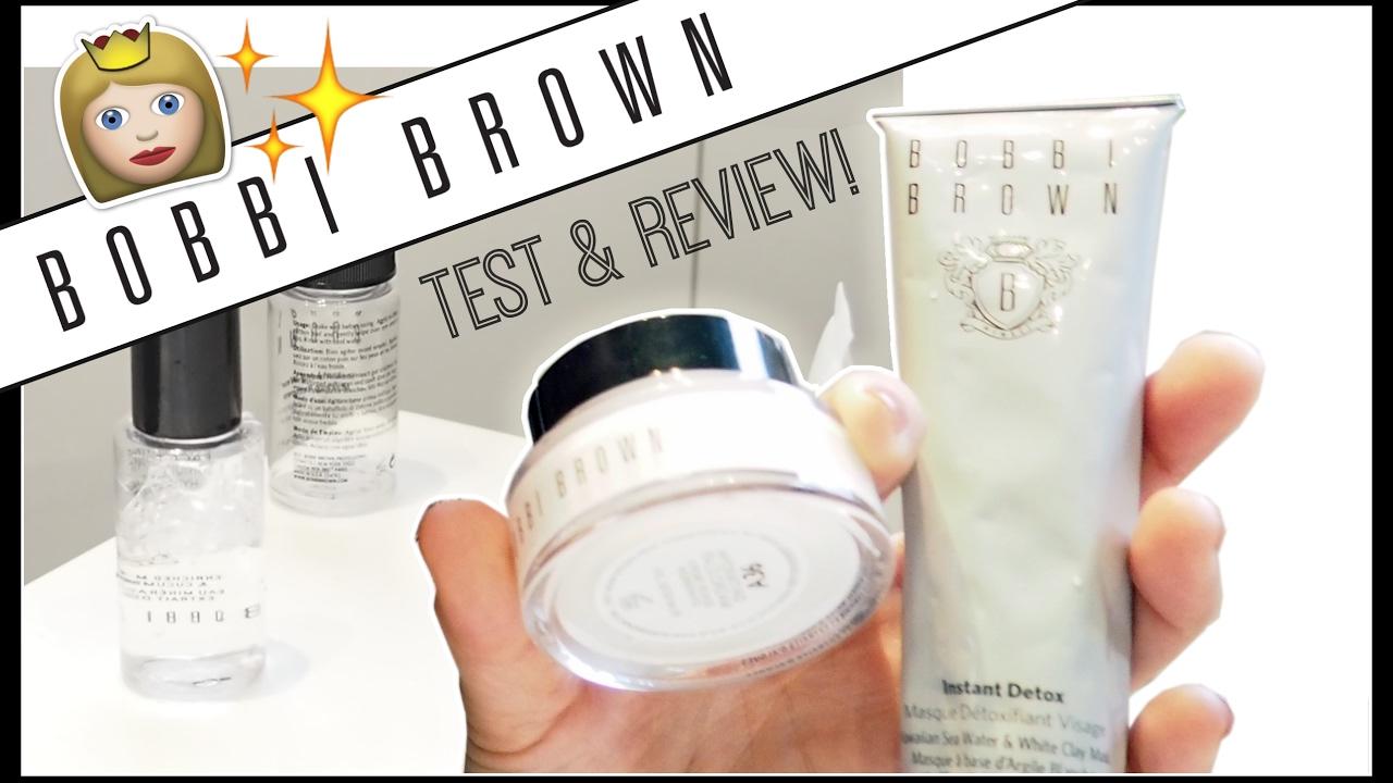 Skincare Bobbi Brown Bobbi To Rescue Set Review Youtube