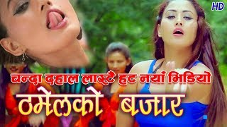 New Nepali Dancing Dohori Video 2074/2017 Thamel Ko Bazar By Tika Pun&Diliraj Ft Chanda Dahal &aryan
