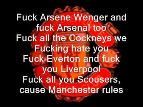 Manchester United Rule - lyrics.
