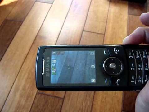 Samsung SGH-U600 - Démonstration, prise en main et test