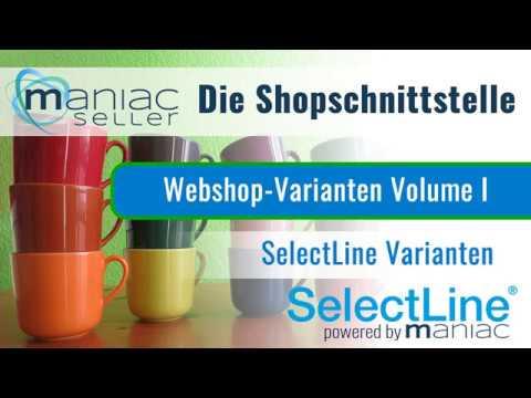 SelectLine Varianten einfach in den Shopware hochladen