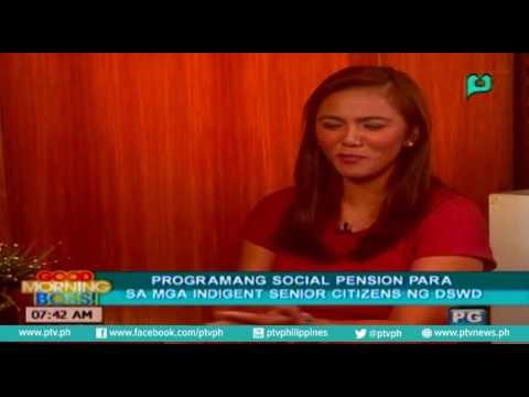 [Good Morning Boss] Programang 'Social Pension' para sa mga indigent senior citizen ng DSWD
